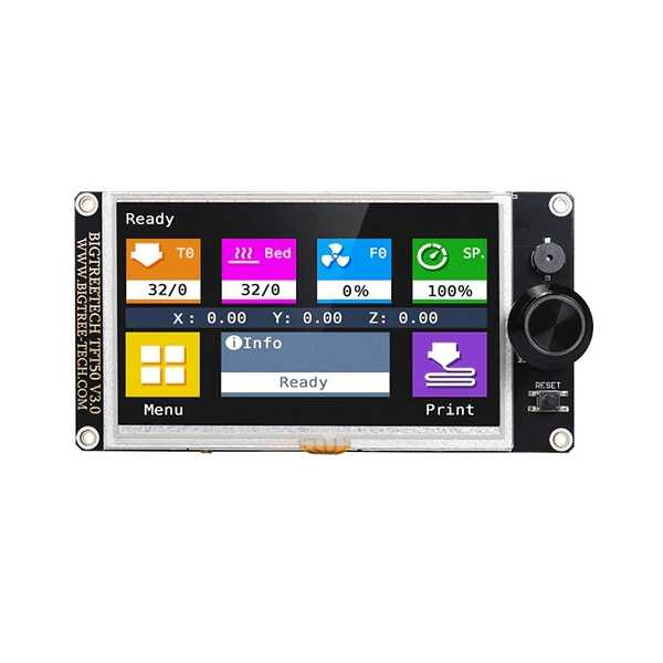 BTT TFT50 V3.0 3D Yazıcı Dokunmatik LCD Ekran