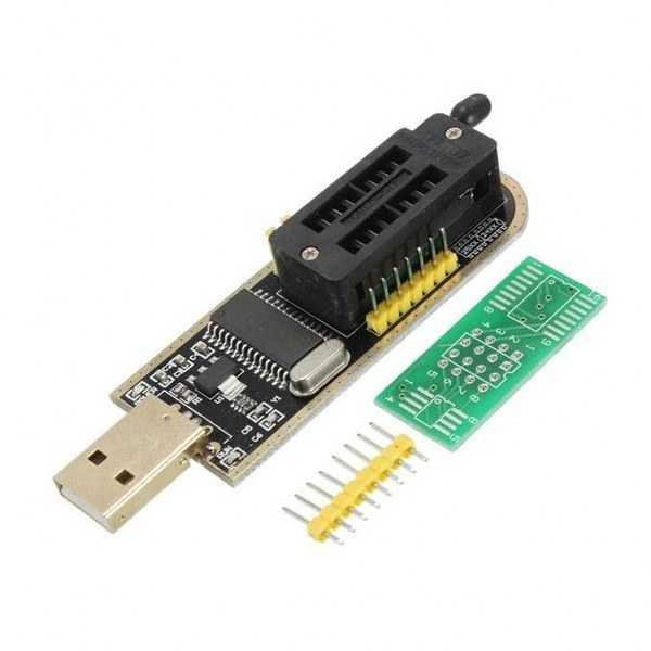 CH341A EEPROM Flash Bios USB Programlayıcı - 24/25 Serisi