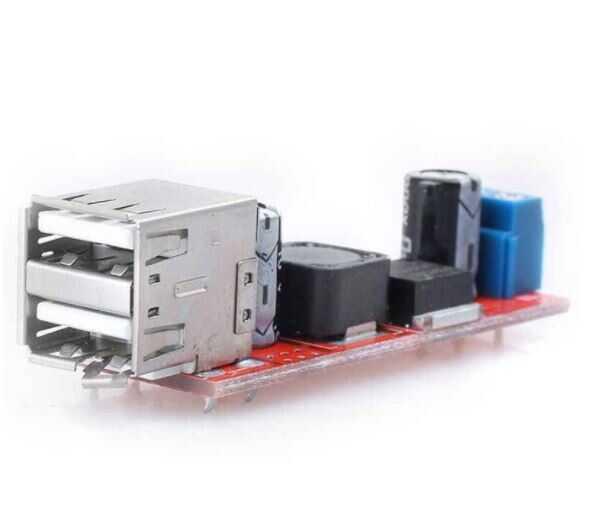 Çift USB Çıkışlı 9V- 12V - 24V - 36V - 5V Dönüştürücü DC 3A