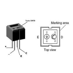 CNY70 Kızılötesi Sensör - Thumbnail