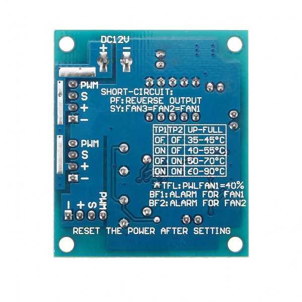 CPU Fan Hız Kontrol Modülü - Yüksek Sıcaklık Alarmı