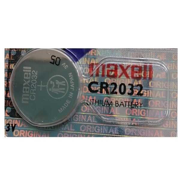 CR2032 Maxell 3V Lityum Düğme/Para Pil