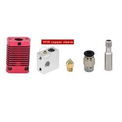 CR10 / MK8 J Head Hotend - Ender 3 - Kırmızı - Thumbnail
