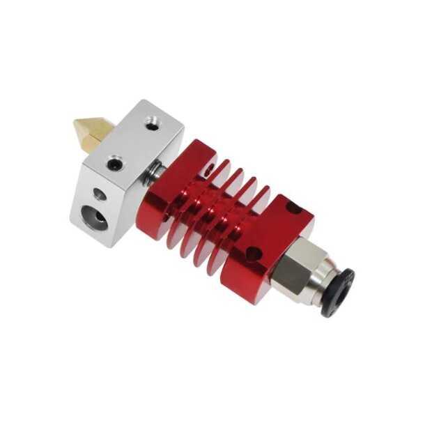 CR10 / MK8 J Head Hotend - Ender 3 - Kırmızı