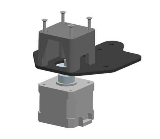 3D Yazıcı Parçaları - Creality 3D Yazıcı X Ekseni Limit Switch Montaj Tablası