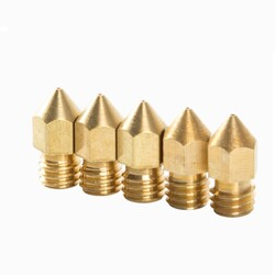 Creality Orijinal 0.4mm Nozzle 5'li Paket - Thumbnail