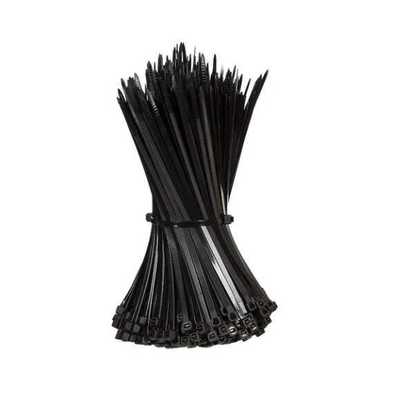 2.5mm x 100mm Kablo Bağı (100 adet) - Siyah - CT 25100-S