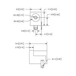 DC Barrel Jak 2.5mm - Dişi - Thumbnail