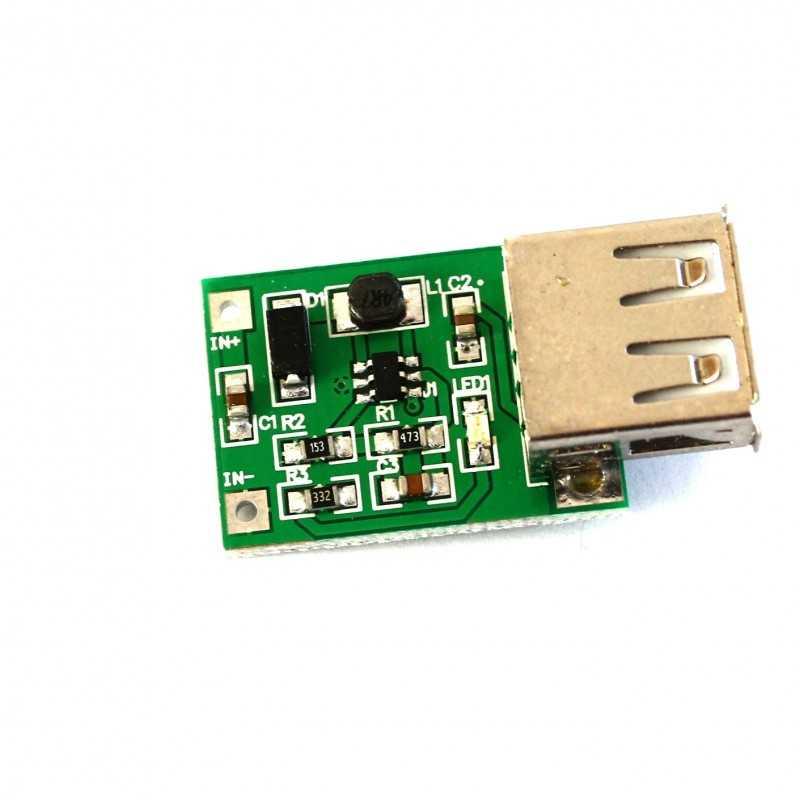 DC-DC USB Voltaj Yükseltici Sarj Modülü