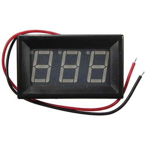 Multimetre - DC Voltmetre - Kırmızı