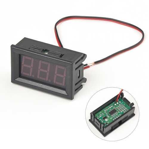 DC Voltmetre - Kırmızı