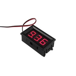 DC Voltmetre - Kırmızı - Thumbnail