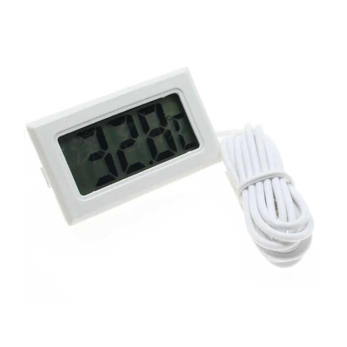 Dijital Termometre - Beyaz
