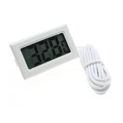 Dijital Termometre - Beyaz - Thumbnail