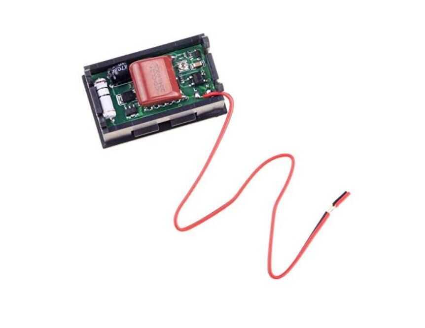Dijital Voltmetre AC 30-500V Kırmızı