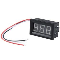 Dijital Voltmetre DC 0-100V Kırmızı - Thumbnail