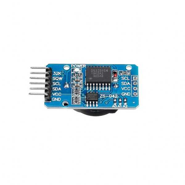 DS3231 Hassas RTC(Gerçek Zamanlı Saat)/24C32 Eeprom Modülü
