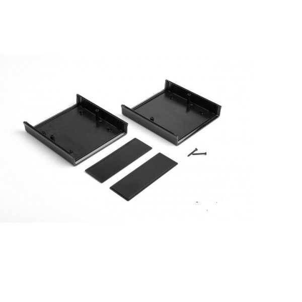 DT-0505 Plastik Proje Kutusu - Siyah