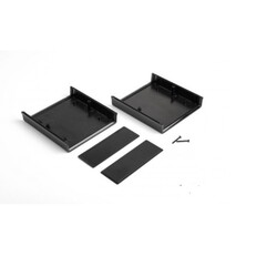 DT-0505 Plastik Proje Kutusu - Siyah - Thumbnail