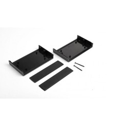 DT-085 Plastik Proje Kutusu - Siyah - Thumbnail