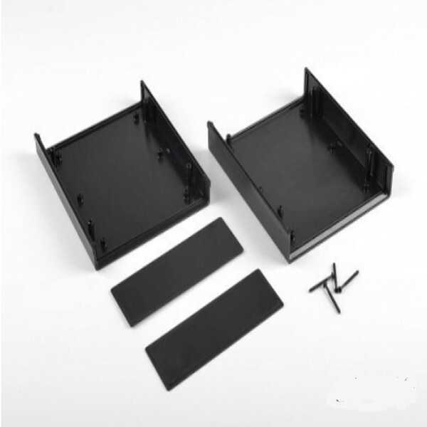 DT-1020 Plastik Proje Kutusu - Siyah