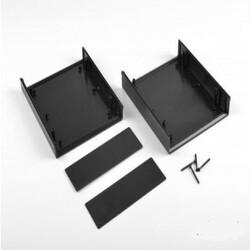 DT-1020 Plastik Proje Kutusu - Siyah - Thumbnail