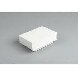 DT-210 Plastik Proje Kutusu - Çift Tarafı Açık Gri Panelli - Açık Gri - Thumbnail