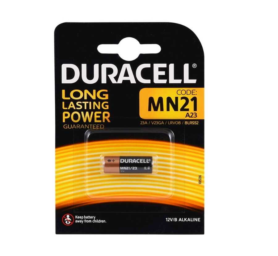 Duracell MN21/A23 12V Kumanda Pili Tekli Blister