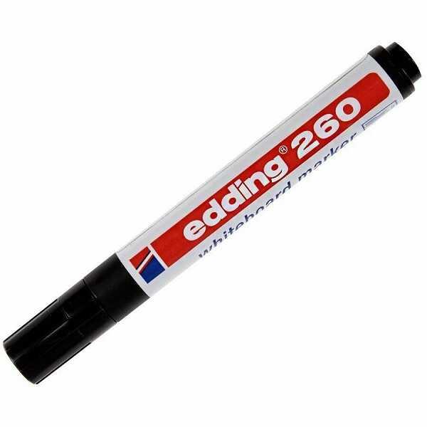 Kırtasiye Ürünleri - Edding E-260 Tahta Kalemi - Siyah