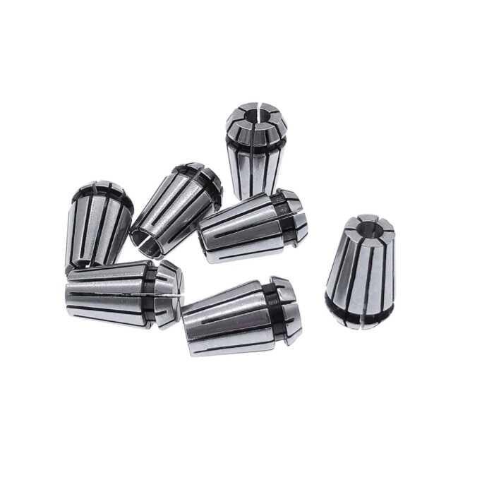 CNC Malzemeleri - ER11 Pens-6.35mm