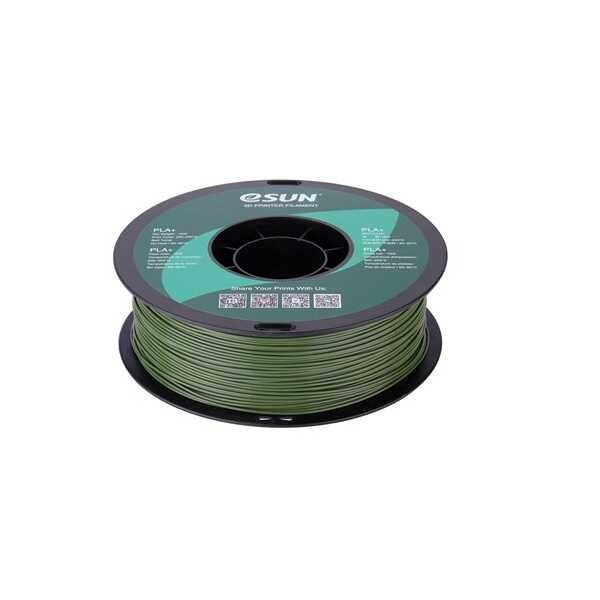 Esun PLA Plus Filament Zeytin Yeşil 1.75mm 1000gr