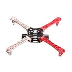 F450 Drone Gövde Kiti - Kırmızı ve Beyaz - Thumbnail