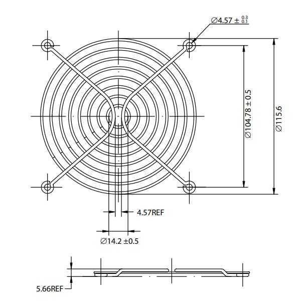 Fan Teli - 120X120mm