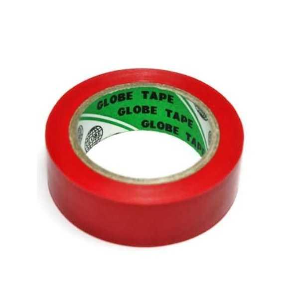 Globe İzole Bant (Elektrik Bandı)-Kırmızı