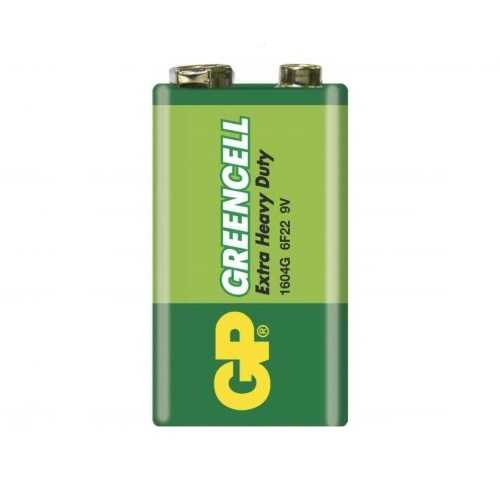 GP Greencell 9V Pil