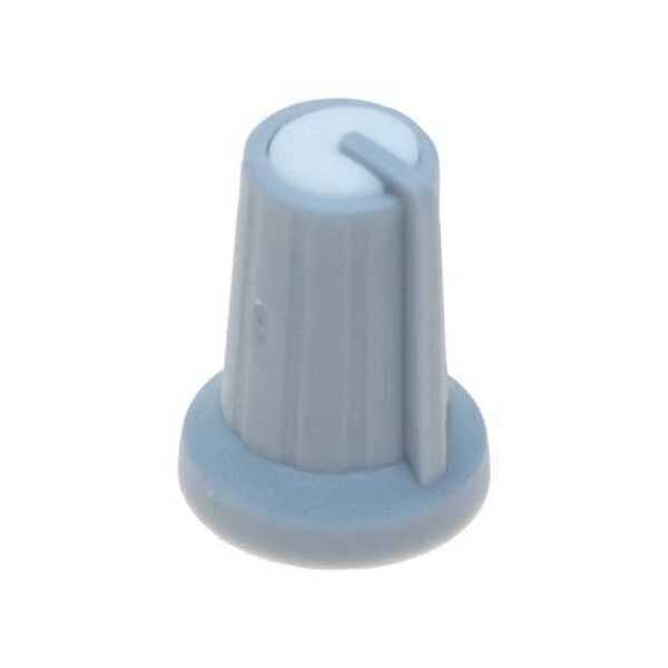 Gri Potansiyometre Düğmesi (Beyaz Başlı)