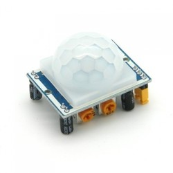 Sensörler - HC-SR501 Ayarlanabilir IR Hareket Algılama Sensörü PIR