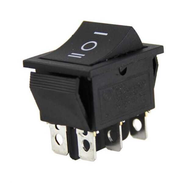 Switch - IC-108 Geniş Işıksız Anahtar ON-OFF-ON