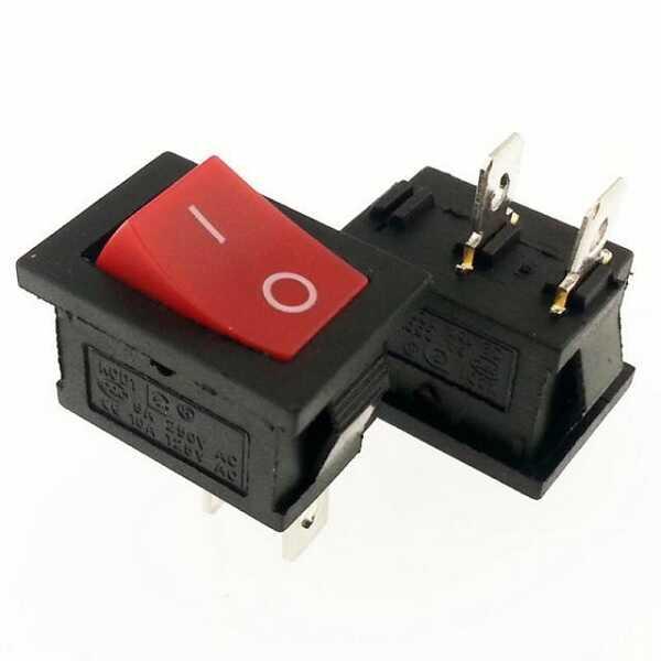 IC-120A Mini Işıksız Anahtar ON-OFF 2P