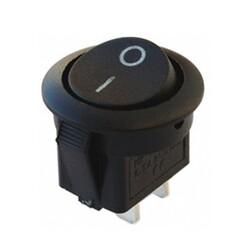Switch - IC-133-5 Yuvarlak Işıksız Anahtar ON-OFF 2P