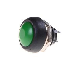IC-184 Buton 12mm PBS33B - Yeşil - Thumbnail