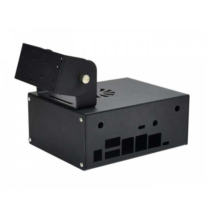 Diğer - Jetson Nano Metal Case(Kasa) - Kamere ve Fan Uyumlu