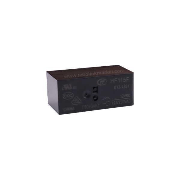 JQX-115F ( HF115 ) / 012-1ZS1 Röle 12VDC 12A