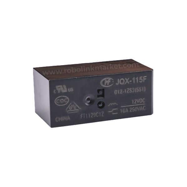 JQX-115F ( HF115 ) / 012-1ZS3 Röle 12VDC 16A