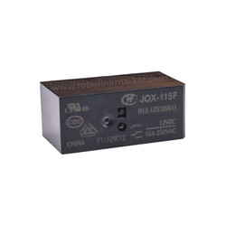 JQX-115F ( HF115 ) / 012-1ZS3 Röle 12VDC 16A - Thumbnail