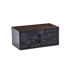 JQX-115F ( HF115 ) / 024-1ZS1 Röle 24VDC 12A - Thumbnail