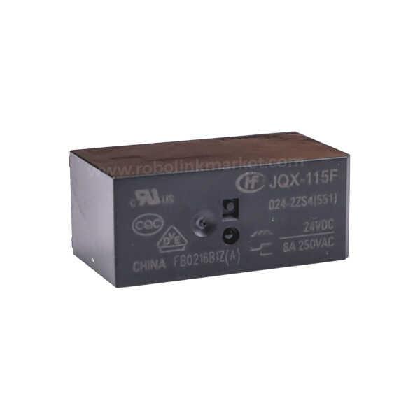 Röle - JQX-115F ( HF115 ) / 024-2ZS4 Röle 24VDC 8A