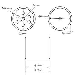 JS2622 Silikon Tekerlek - 2 Adet - Thumbnail