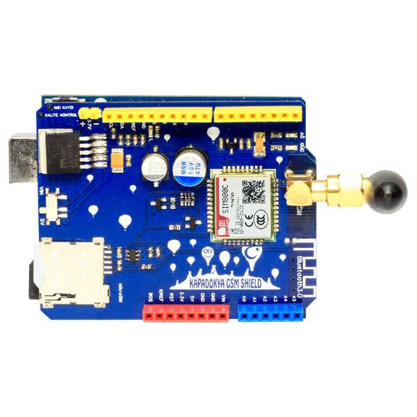 Kapadokya GSM Shield / Arduino GSM Shield (IMEI Kayıtlıdır)