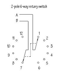 Komütatör 2x6-Kademeli Potansiyometre - Thumbnail